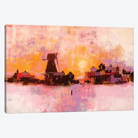 Windmill Canvas Print #CRU93} by Colin Ruffell Canvas Art Print