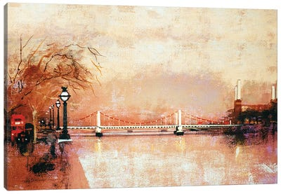 Chelsea Bridge Canvas Art Print