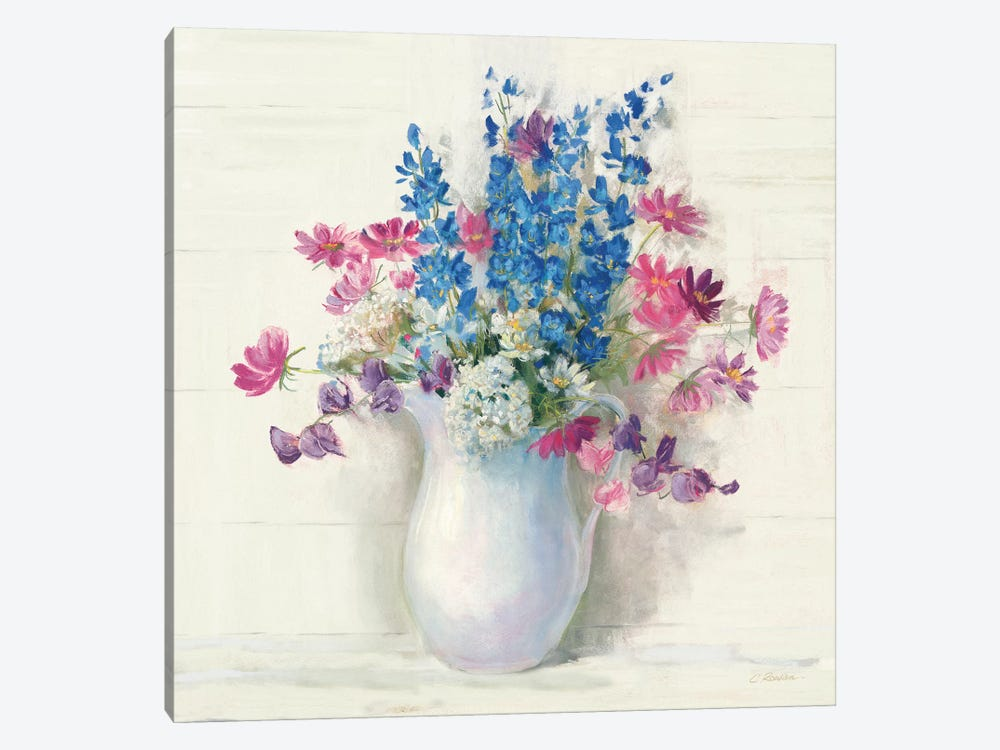 Ironstone Bouquet II Bright by Carol Rowan 1-piece Art Print
