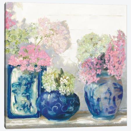 Ladys Mantle II Bright Canvas Print #CRW22} by Carol Rowan Canvas Wall Art