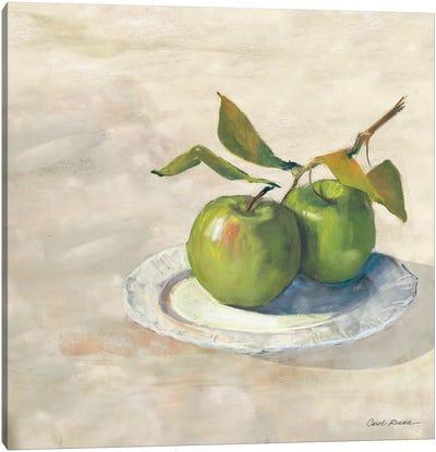 Green Apple I Neutral Canvas Art Print
