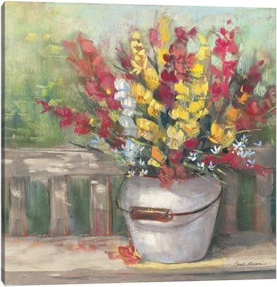 Snapdragon Bouquet Canvas Art Print