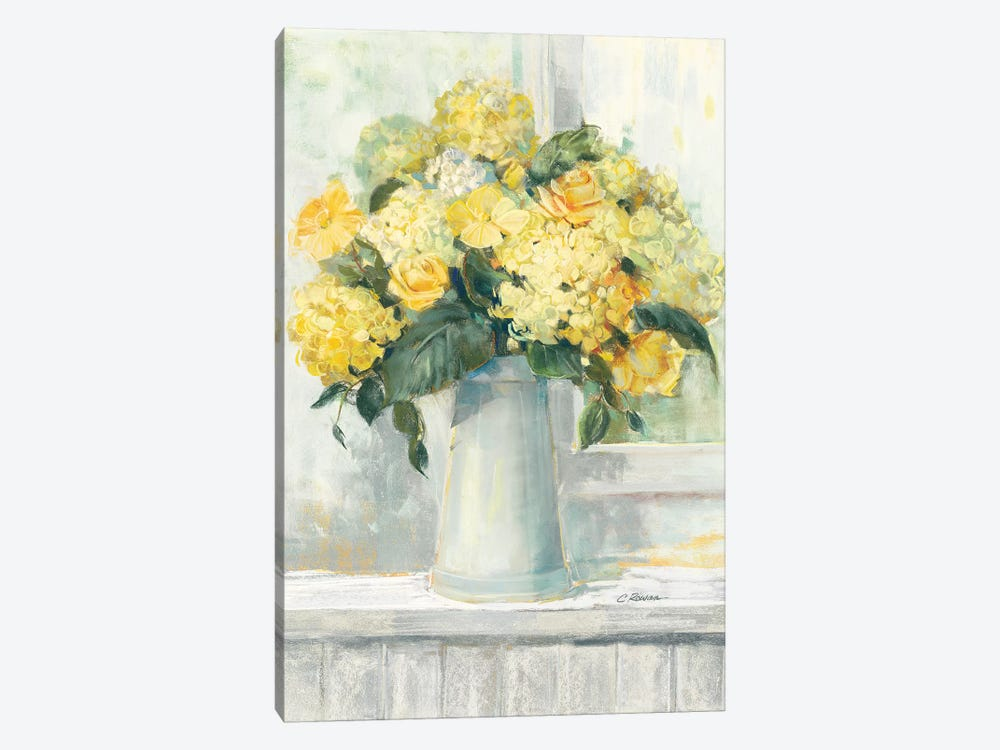Endless Summer Bouquet I Yellow by Carol Rowan 1-piece Canvas Art Print