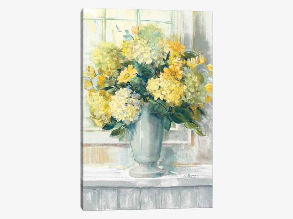 Endless Summer Bouquet II Yellow by Carol Rowan 1-piece Canvas Artwork