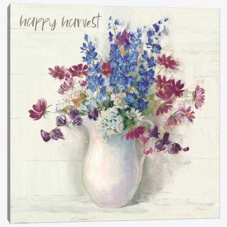 Harvest Ironstone Bouquet II Canvas Print #CRW7} by Carol Rowan Canvas Wall Art
