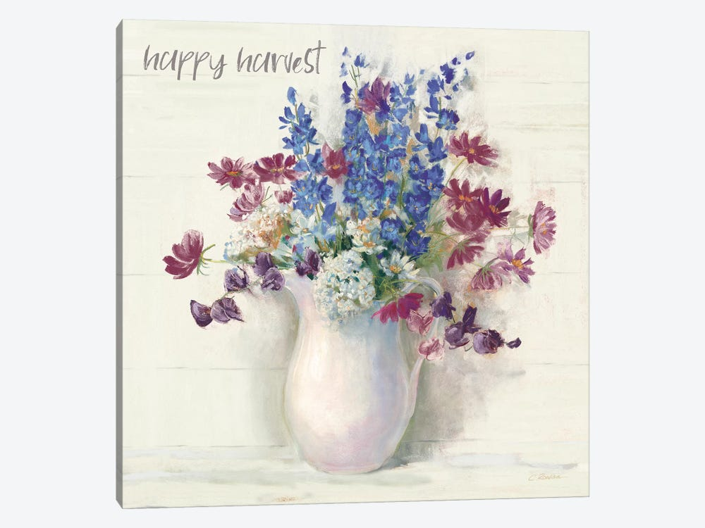 Harvest Ironstone Bouquet II by Carol Rowan 1-piece Canvas Print