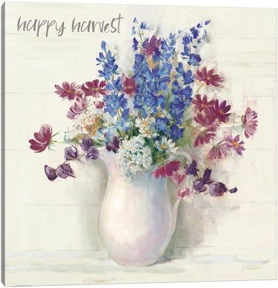 Harvest Ironstone Bouquet II Canvas Art Print