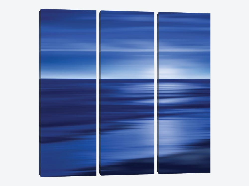 Midnight Blue by Carly Anderson 3-piece Canvas Print