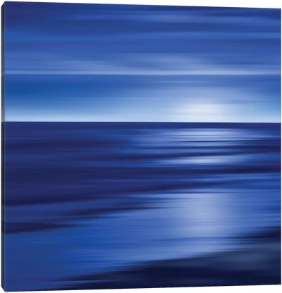 Midnight Blue Canvas Art Print