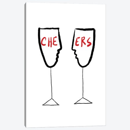 Cheers Canvas Print #CSA10} by Atelier Posters Canvas Artwork