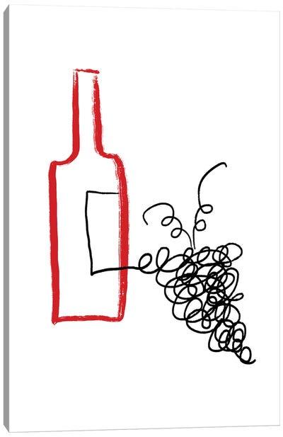 Good Wine Canvas Art Print