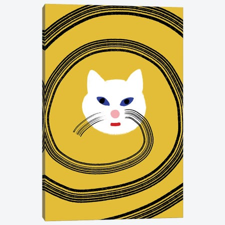 Meow Canvas Print #CSA24} by Atelier Posters Canvas Art