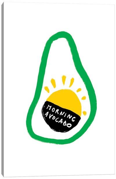 Morning Avocado Canvas Art Print