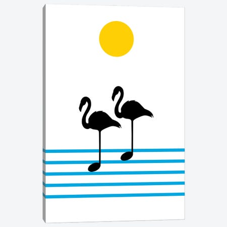 Morning Sound Canvas Print #CSA26} by Atelier Posters Canvas Artwork