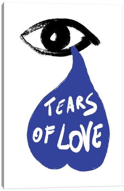 Tears Of Love Canvas Art Print