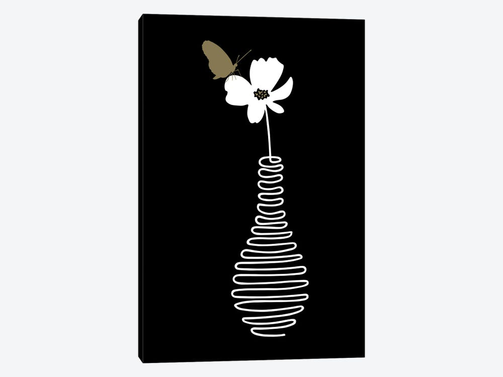 Delicate Flower by Atelier Posters 1-piece Canvas Art