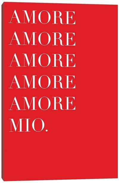 Amore Mio Amore Mio Canvas Art Print
