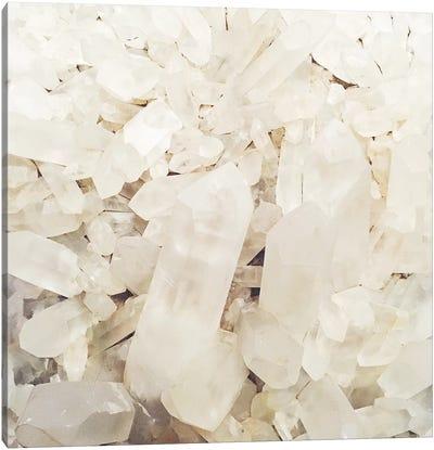 Quartz Crystals Canvas Art Print