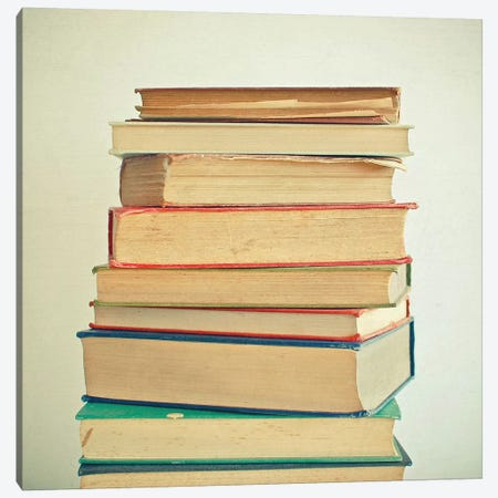 Stack of Books Canvas Print #CSB122} by Cassia Beck Canvas Print