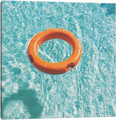Swimming Pool III Canvas Art Print