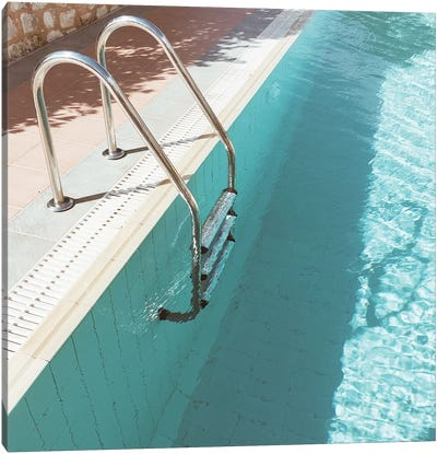Swimming Pool IV Canvas Art Print
