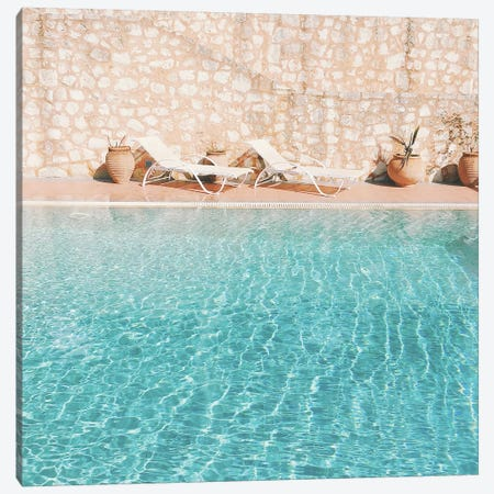 Swimming Pool V Canvas Print #CSB136} by Cassia Beck Canvas Print