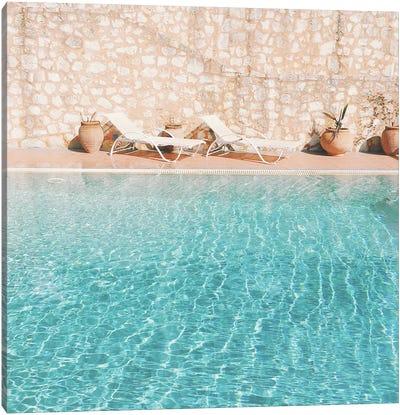 Swimming Pool V Canvas Art Print