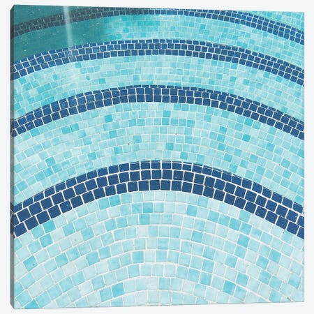 Swimming Pool X Canvas Print #CSB138} by Cassia Beck Canvas Artwork