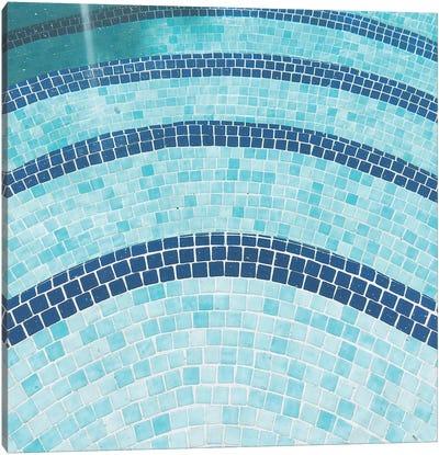 Swimming Pool X Canvas Art Print