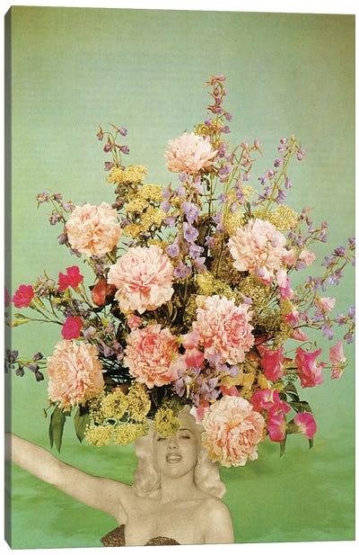 Floral Fashions II Canvas Art Print