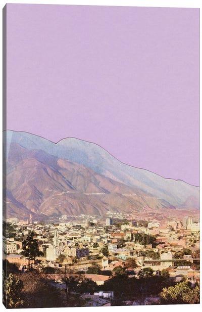 Lilac Skies Canvas Art Print