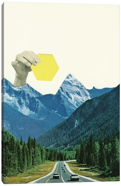 Moving Mountains Canvas Art Print