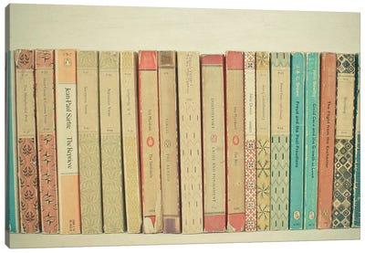 Books Canvas Art Print