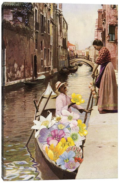 The Suitor II Canvas Art Print