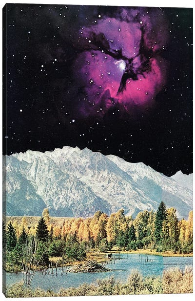 Time and Space Canvas Art Print