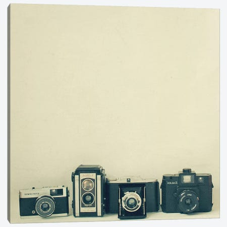 Camera Collection Canvas Print #CSB28} by Cassia Beck Canvas Artwork