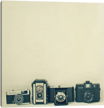 Camera Collection Canvas Art Print