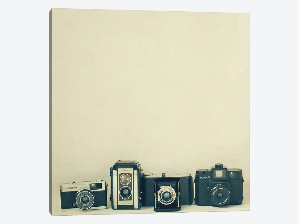 Camera Collection by Cassia Beck 1-piece Canvas Wall Art