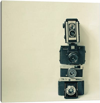 Camera Love Canvas Art Print