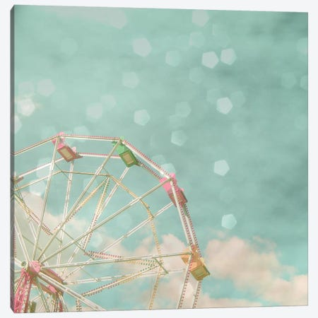 Candy Wheel Canvas Print #CSB30} by Cassia Beck Canvas Print