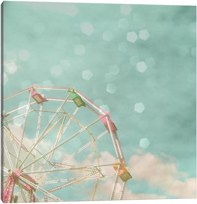Candy Wheel Canvas Art Print