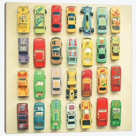 Car Park Canvas Print #CSB31} by Cassia Beck Art Print