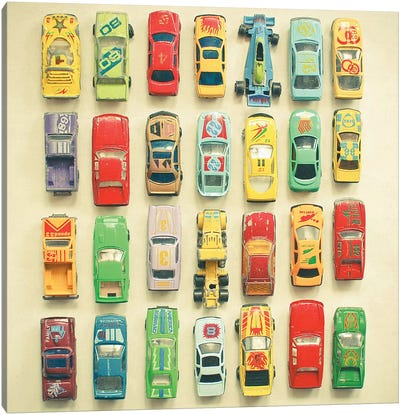 Car Park Canvas Art Print