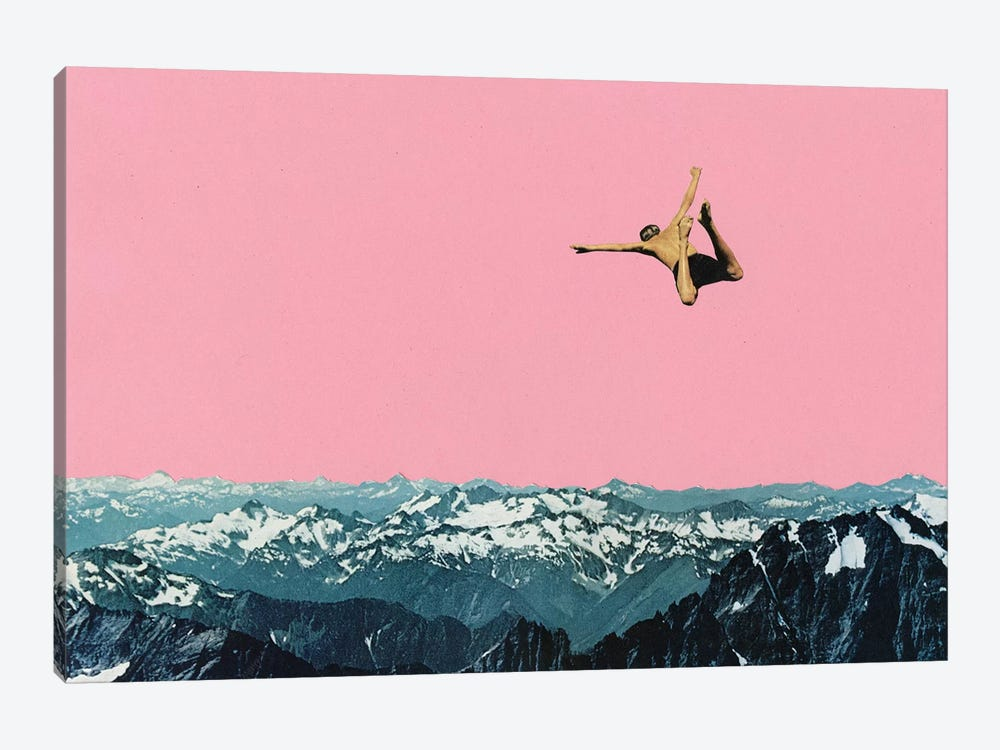 Higher than Mountains by Cassia Beck 1-piece Canvas Art Print