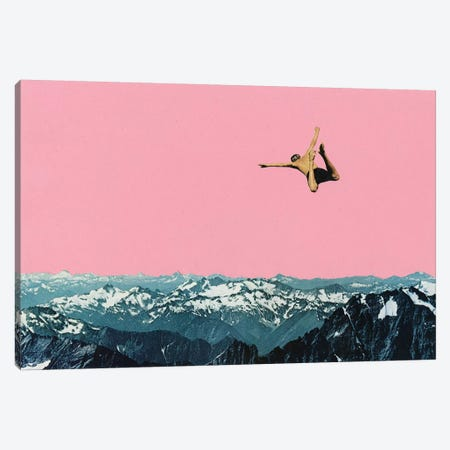 Higher than Mountains Canvas Print #CSB61} by Cassia Beck Canvas Art