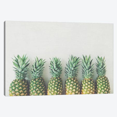 It's All About the Pineapple Canvas Print #CSB65} by Cassia Beck Canvas Art Print