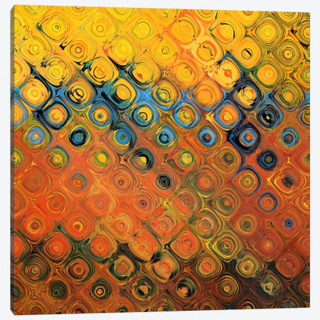 Golden Canopy Bubble Canvas Print #CSC148} by iCanvas Canvas Artwork