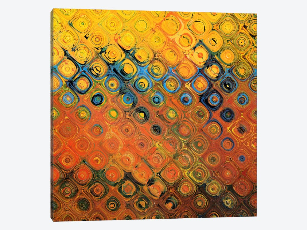 Golden Canopy Bubble by Unknown Artist 1-piece Canvas Art