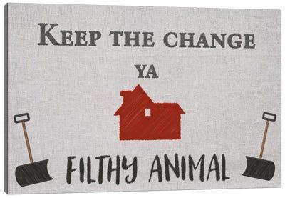 Keep the Change Canvas Art Print