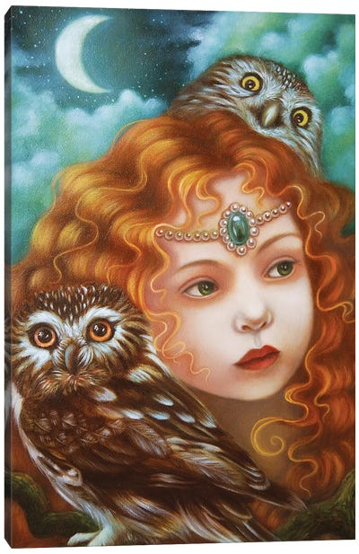 Marlena Canvas Art Print